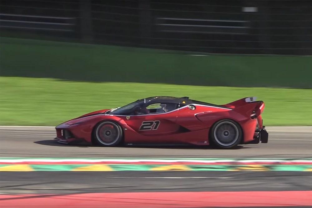 Ferrari FXX Programmes Binaural Audio