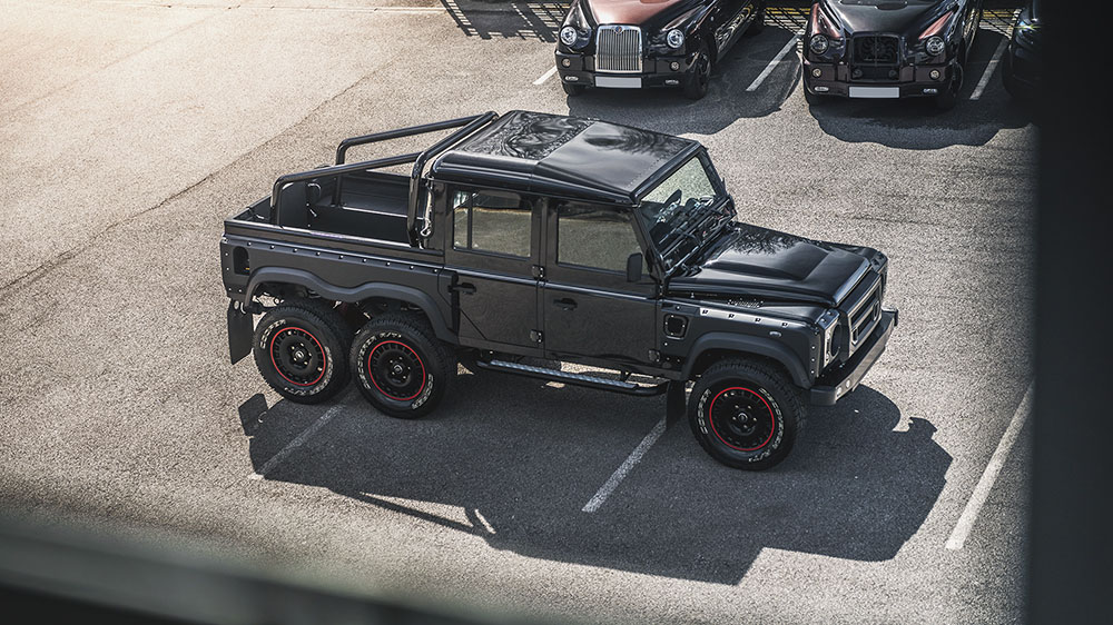 Kahn 6.2 V8 Flying Huntsman 6X6 Defender Double Cab Pick Up