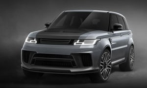 Project Kahn Range Rover Sport SVR Carbon Edition Pace Car