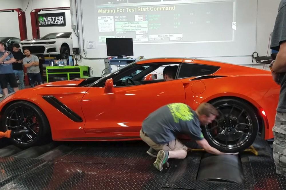 Friday FAIL Dyno Arm Crunch Corvette ZR1