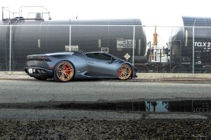 Lamborghini Huracan LP 610-4 Spyder Brixton Forged PF1 Duo Series Wheels