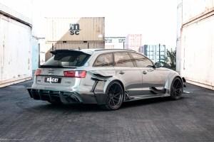 Race! Widebody Audi RS6 Avant with ADV.1 ADV7R Track Spec CS Series Wheels