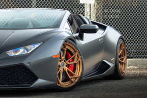 Huracan Spyder Brixton Forged Wheels
