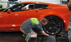 Friday FAIL Dyno Arm Crunch Corvette ZR1