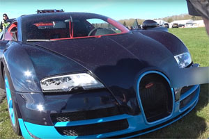 Friday FAIL Bugatti Veyron Crash
