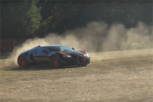 Bugatti Veyron Grand Sport Vitesse World Record Edition Rally