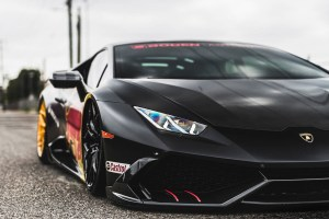 Red Bull Lamborghini Huracan with Brixton Forged PF10 Ultrasport+ Wheels