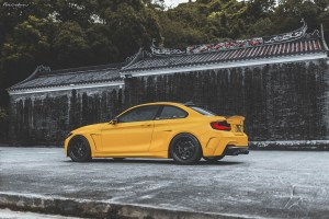 Manhart MH2 WB with Brixton Forged CM7 Circuit+ Wheels by ReinART Design