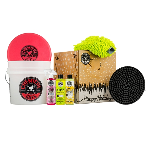 Chemical Guys HOL159 - Wash and Shine Detailing Bucket Holiday Gift Set
