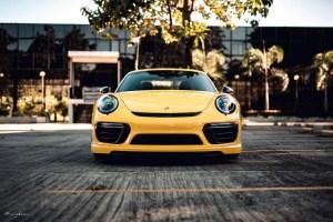 Porsche 911 Turbo S Brixton Forged PF9 Targa Series Wheels