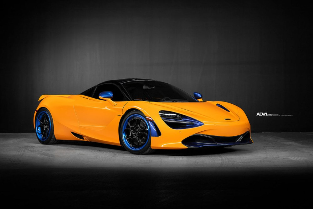 McLaren 720S with ADV05 Track Spec CS Series wheels by Pfaff Tuning