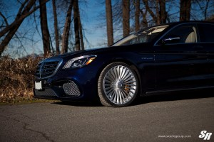 Mercedes-AMG S65 with PUR RS44 wheels by SR Auto Group