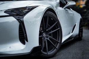 Lexus LC500 with Brixton Forged M53 Ultrasport+ wheels