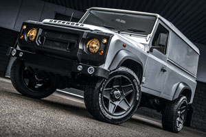 Silver Superhero Land Rover Defender
