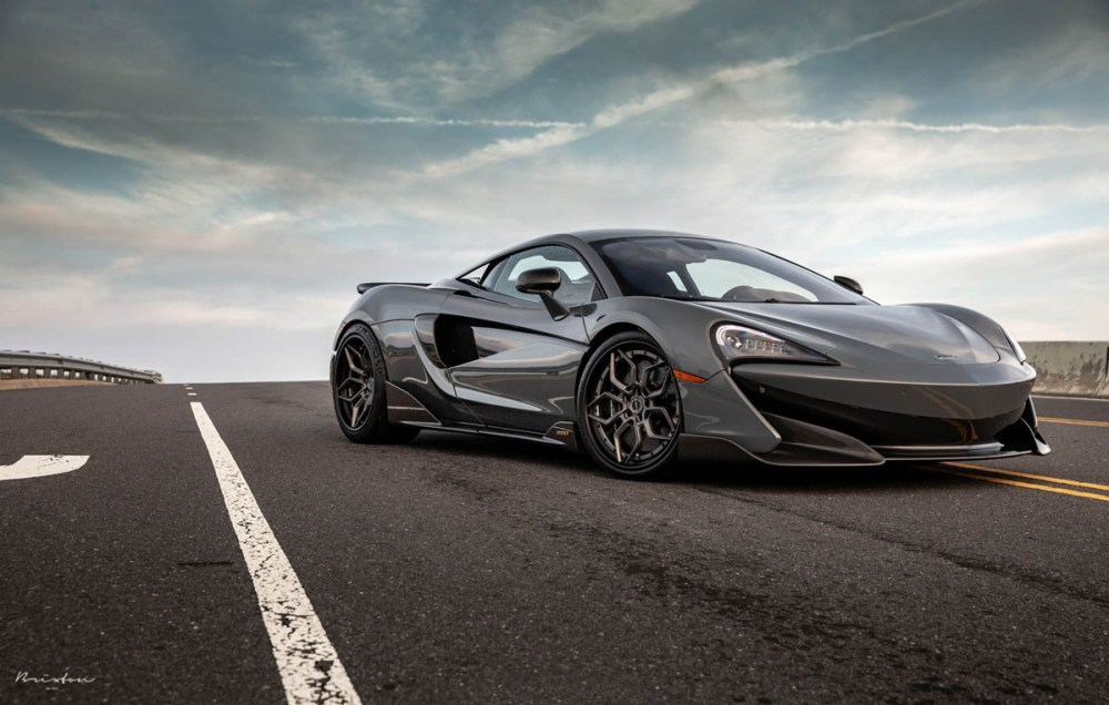 McLaren 600LT with Brixton Forged PF9 Targa Series Wheels