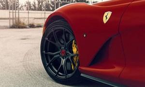 Ferrari 812 Superfast with Vorsteiner Wheels