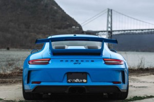 Mexico Blue 991.2 Porsche 911 GT3 Brixton Forged PF7 Ultrasport+ Wheels