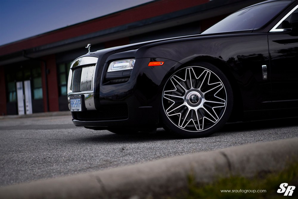 Rolls-Royce Ghost with PUR RS37.V2 Wheels by SR Auto Group