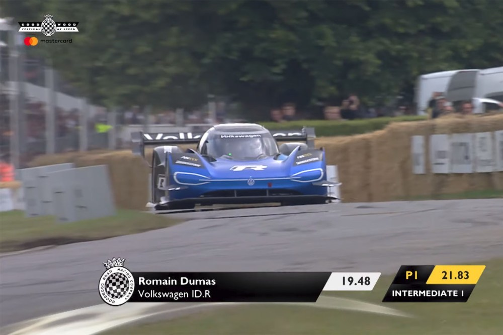 2019 Goodwood Festival of Speed Timed Shootout