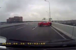 Friday FAIL Ferrari F12Berlinetta Crash