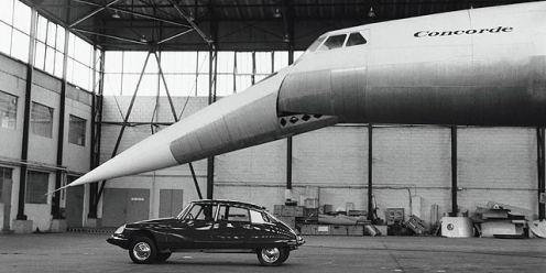 Concorde Citroen DS