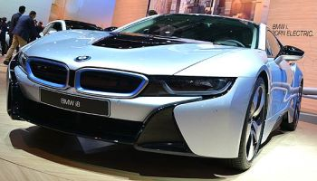 This Limited Edition Bmw I8 Has Special Paint And Double Red