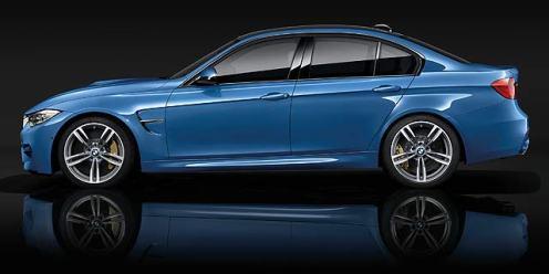 BMW M3 saloon 4