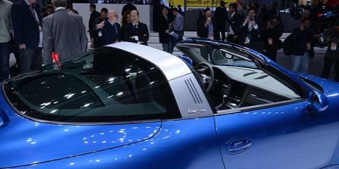 Porsche 911 991 Targa 4