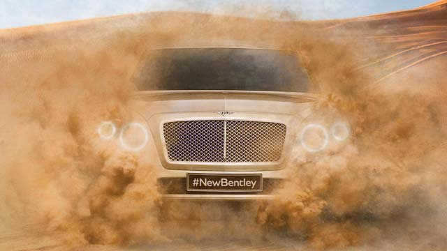 New Bentley SUV