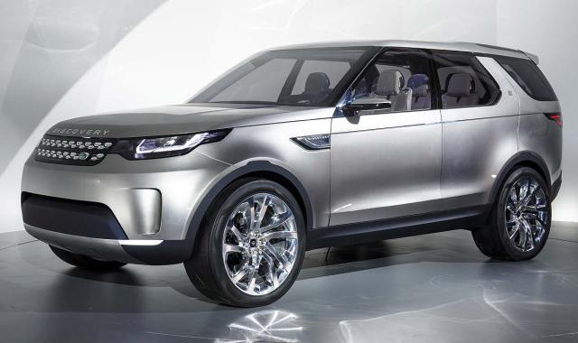Land Rover Discovery Vision Concept Reveal