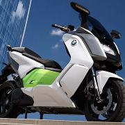 BMW C Evolution electric maxi scooter