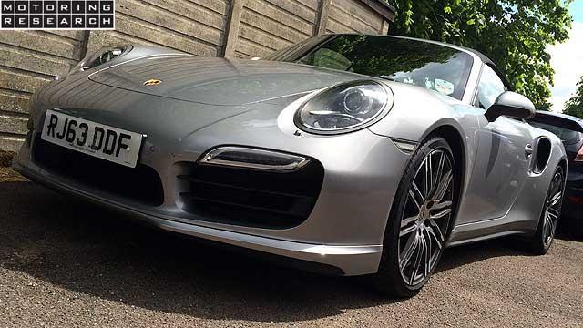 MR Porsche 911 Turbo Cabriolet MPG