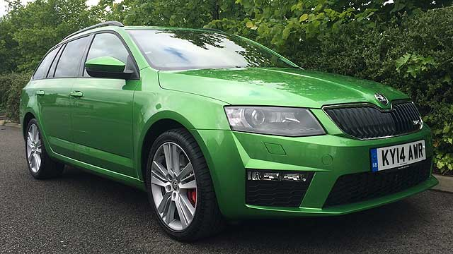 Skoda Octavia vRS MR long-termer