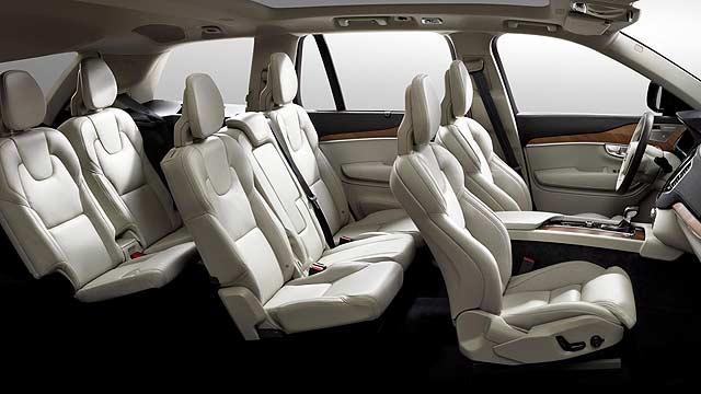 Volvo XC90 2015 interior