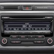 VW DAB radio head unit
