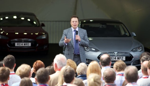 Tesla RHD Elon Musk