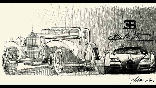 Legend Ettore Bugatti
