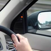 Volvo blind spot warning device