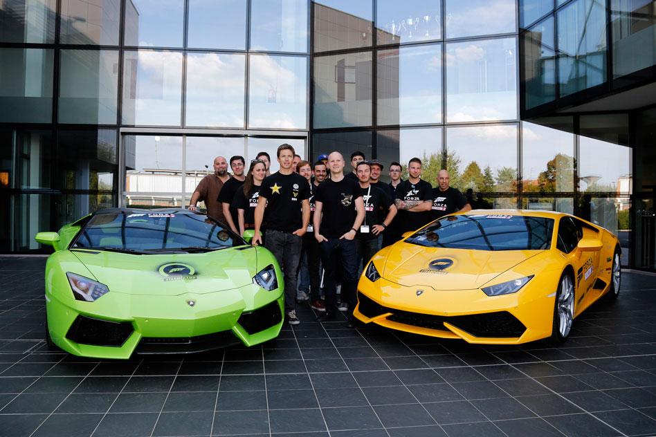 Lamborghini/Forza Horizon 2 real life challenge