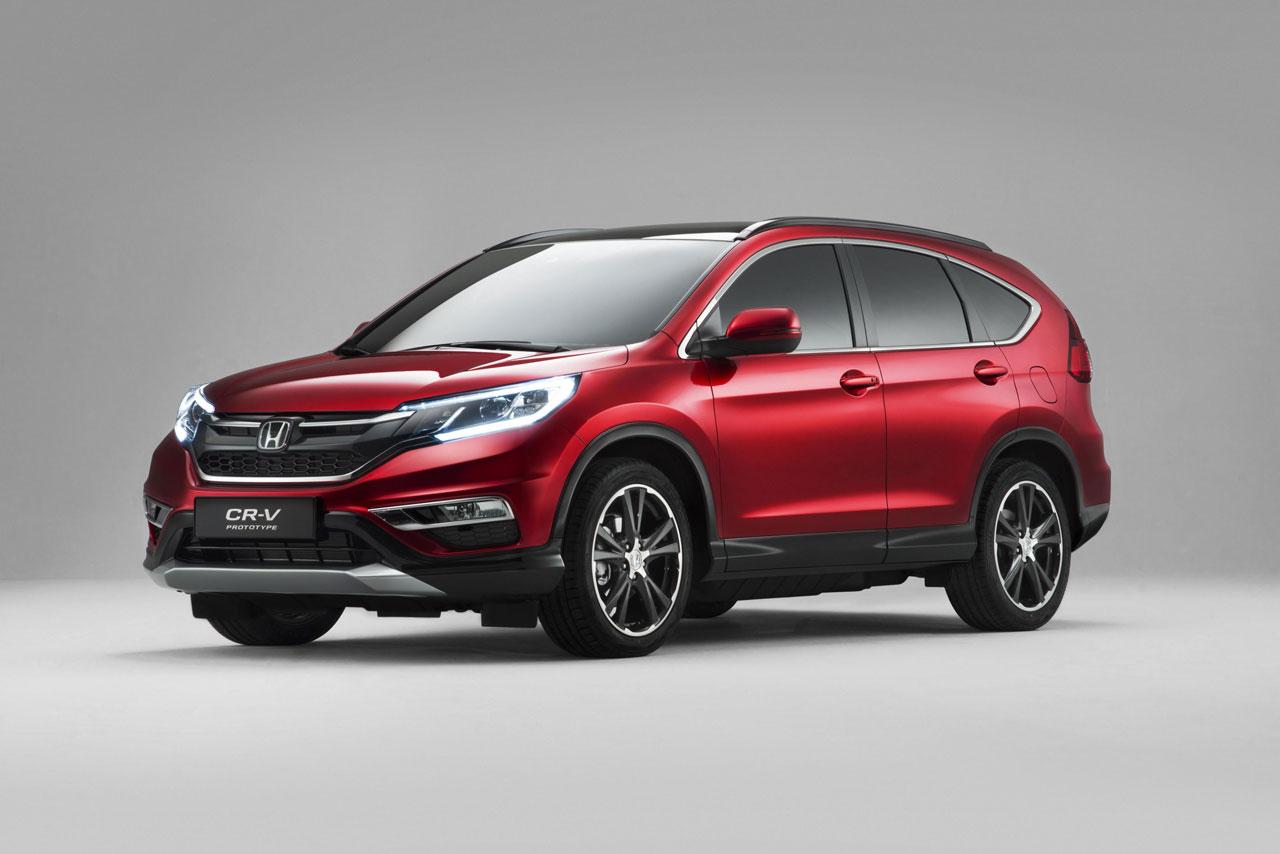 Honda CR-V Paris Motor Show 2014