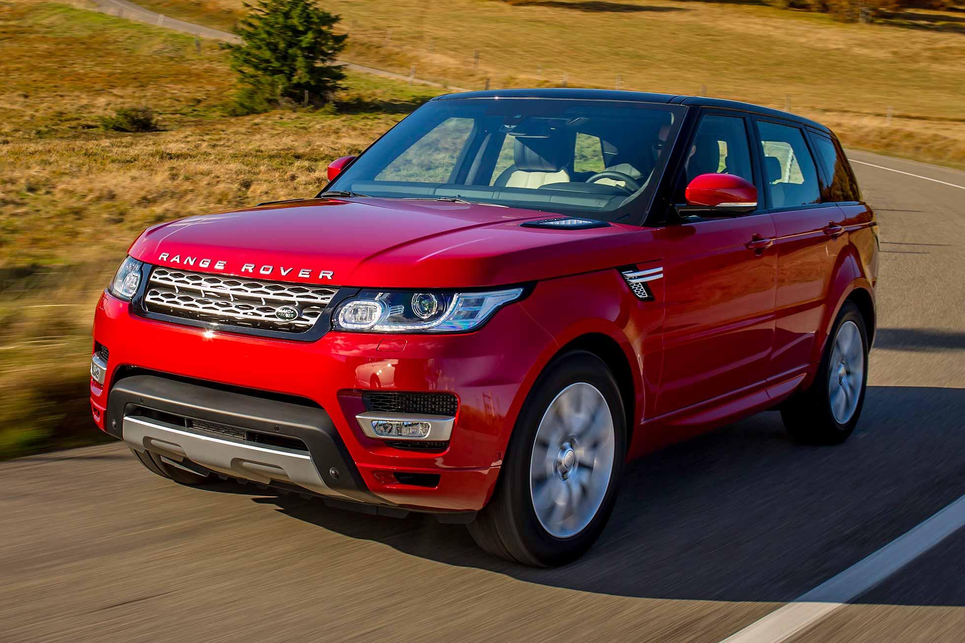 Range Rover in London car insurance risk