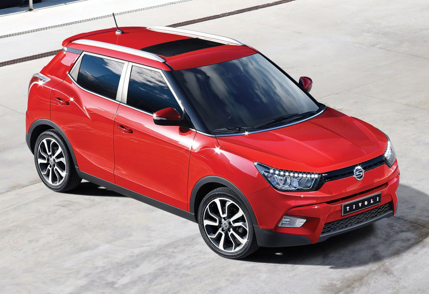SsangYong unveils new Tivoli compact crossover SUV