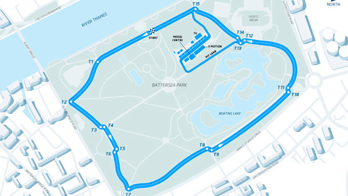 London's Battersea Park confirmed for twin stage of Formula E championship