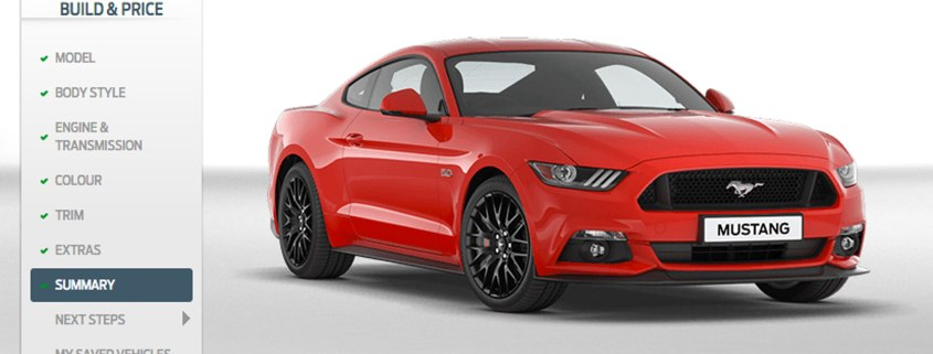 The UK's dream Mustang looks like this