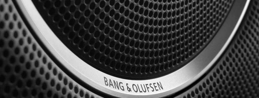 Bang and Olufsen car speaker
