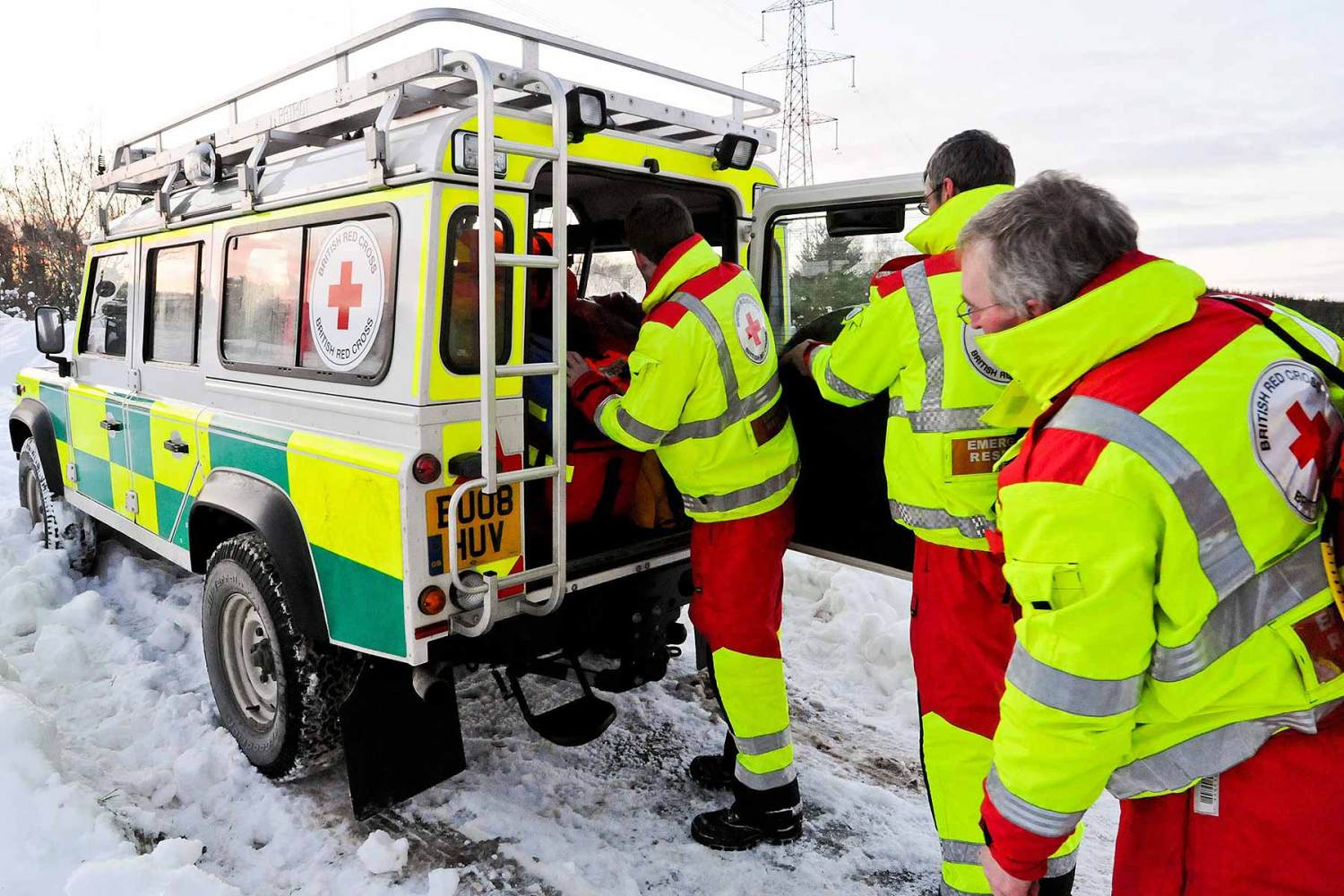 Land Rover emergency services