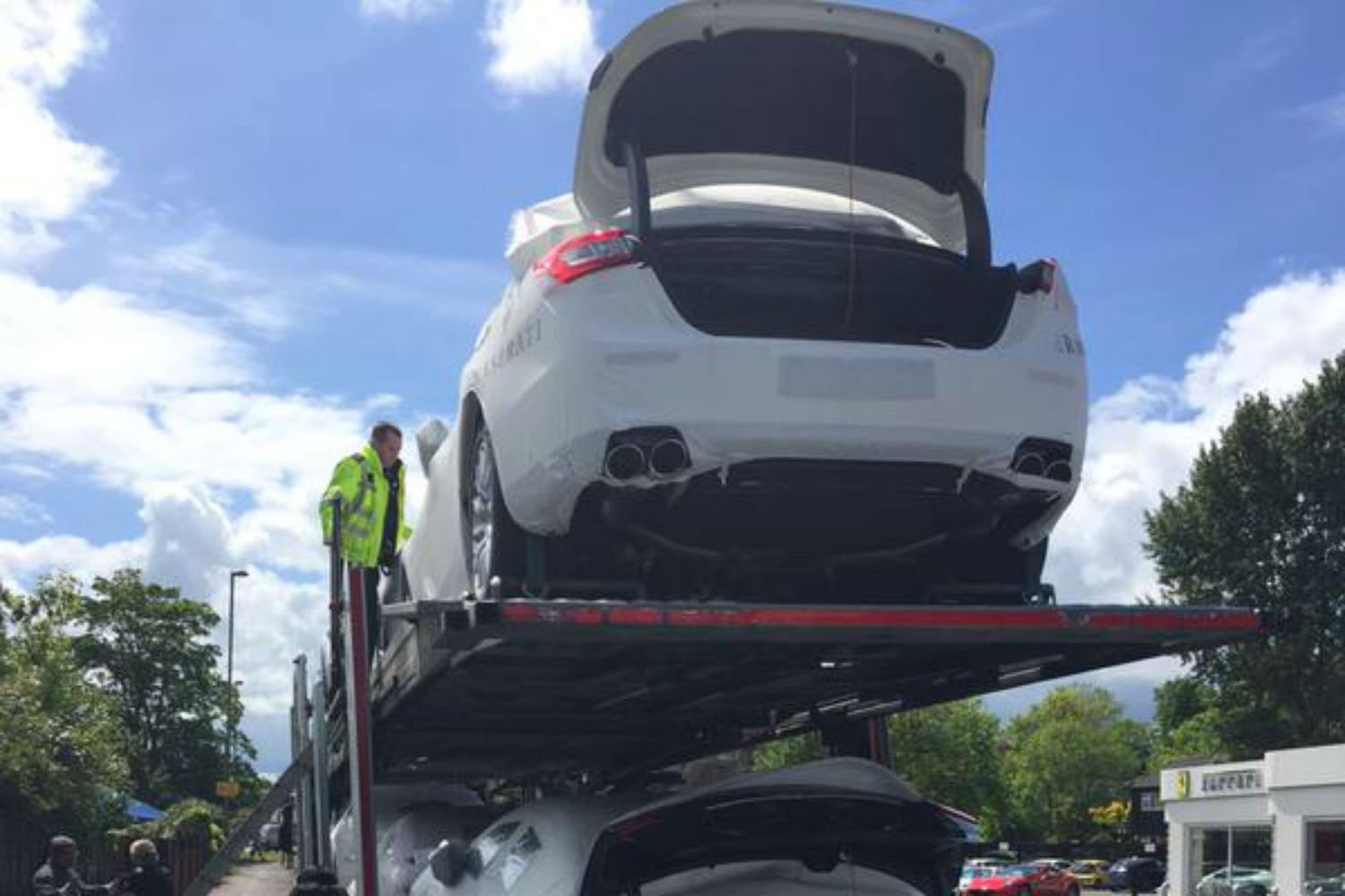 Immigrants found sneaking into UK in boots of Maseratis