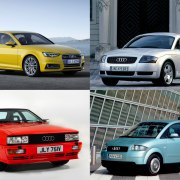 6 times Audi dared to be different