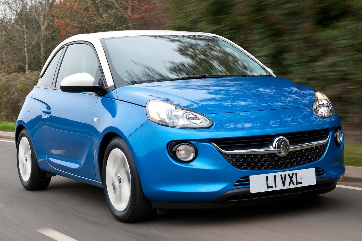 The cheapest cars to insure for 17-18 year olds: Vauxhall Adam