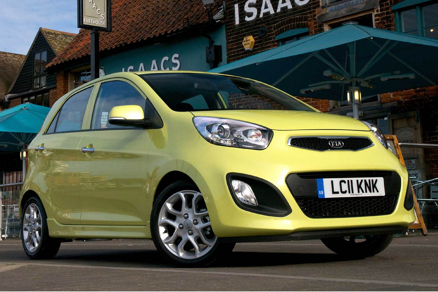 The cheapest cars to insure for 17-18 year olds: Kia Picanto